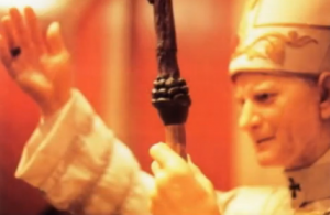 Not to be outdone by Osiris and Dionysus, the pope has a pine cone on his staff too.