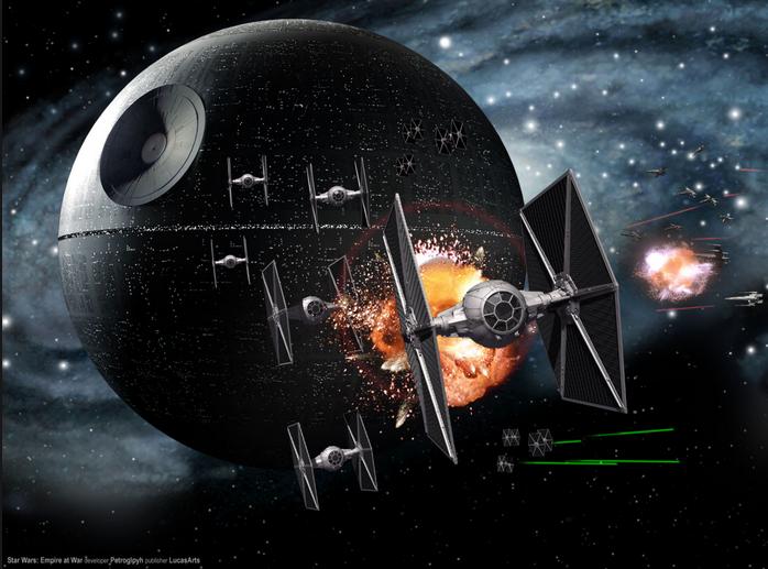 Star Wars, Empire at War, developer Petroglyph, publisher, LucasArts.png