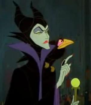 """Maleficent, in """"Sleeping Beauty"""""""