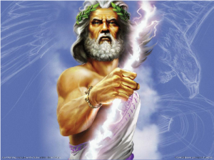 "Zeus: Superhero or Male Chauvinist Pig? From ""The Age of Myth"""