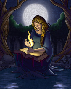 Brigid as goddess of writers and inspiration