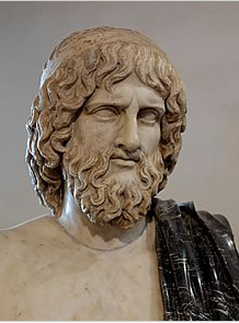 Roman copy of a 5th century BCE bust of Hades. This is how I picture him.